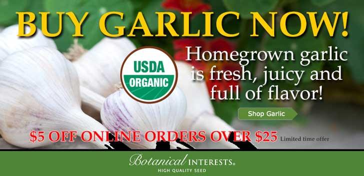 Botanical Interests Garlic