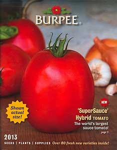 Burpee Catalog - 2013