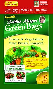 Amazon - Debbie Meyer Large Green Bags