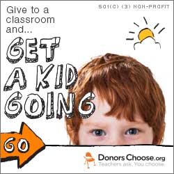 Give to Public Schools in Need! - Go to DonorsChoose.org
