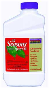 Dormant oil spray concentrate