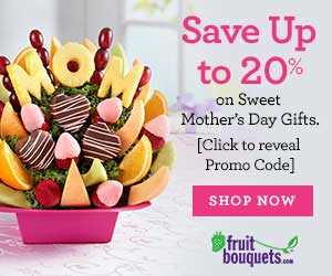 Fruit Bouquests - Mother's Day