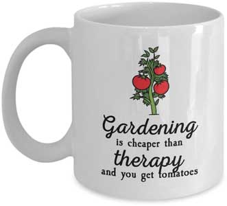 Gardening - Cheaper than Therapy