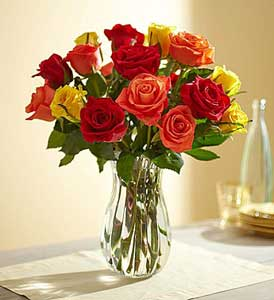 Harvest Roses from 1800flowers.com