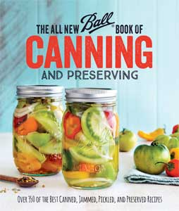 New Ball Book of Canning