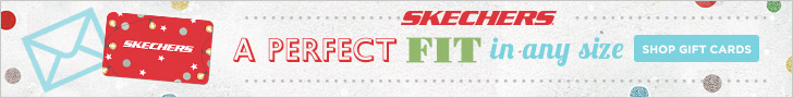 A Perfect Fit in Any Size. SKECHERS e-Gift cards are great gifts for the holidays! Send one today!