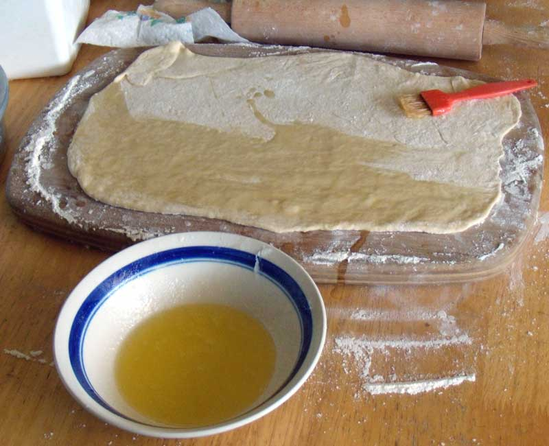 Crisco-butter mixture