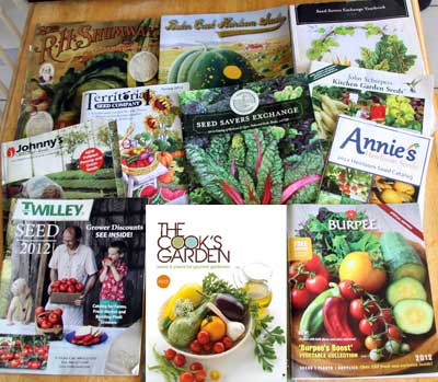 2012 Seed Catalogs