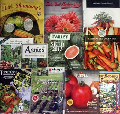 2013 Seed Catalogs