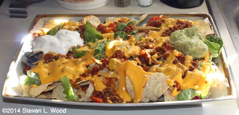 Nacho Cheese Party Dish