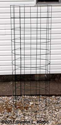 Finished tomato cage