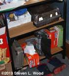 Warm shelf