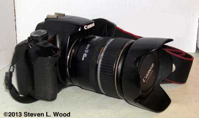Canon XSi w 17-85mm lens