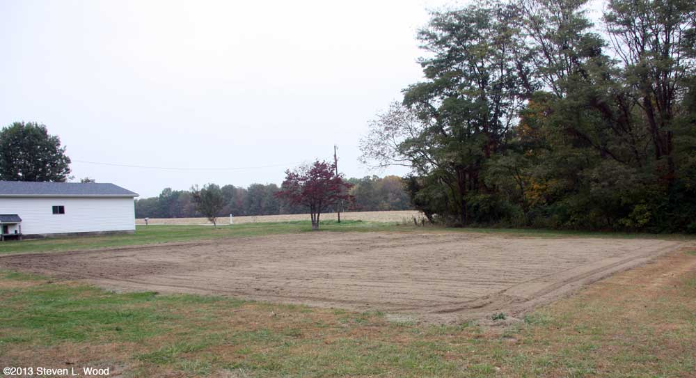 East Garden Tilled for Winter (October 28, 2013)
