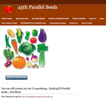 45th Parallel Seeds