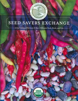 Seed Savers Exhange -2014 - Catalog Cover