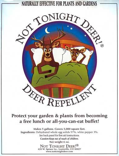 Not Tonight Deer!