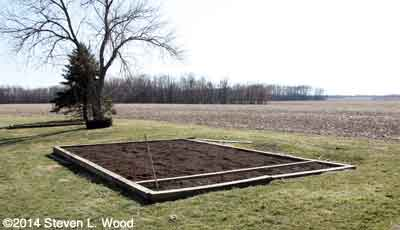 Main raised bed