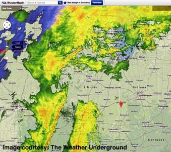 Wundermap - April 13, 2014 9:39pm