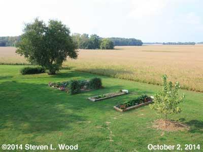 A Shaded Senior Garden - October 2, 2014