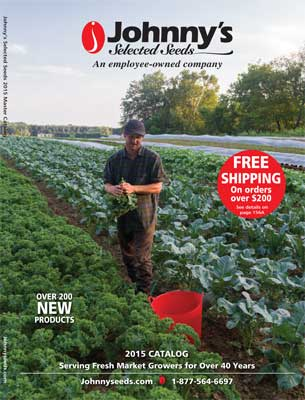 Cover - JSS 2015 Seed Catalog