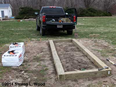 Building new raised bed