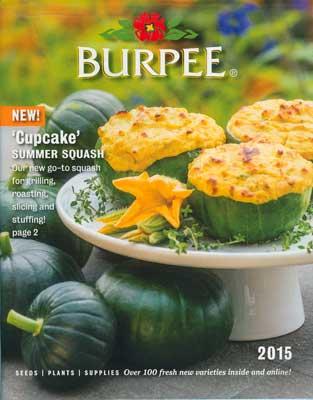 2015 Burpee Catalog Cover