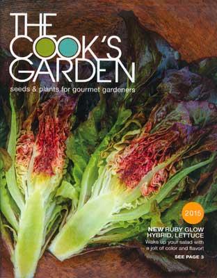 The Cook's Garden 2015 Catalog Cover