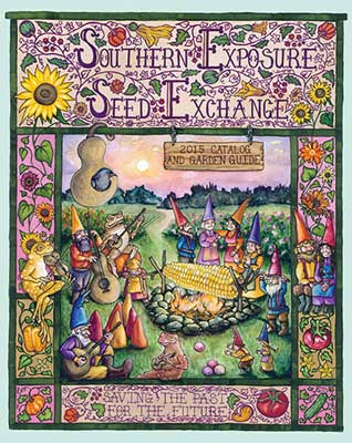 Southern Exposure Seed Exchange 2015 catalog cover
