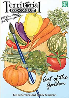 Territorial Seed Company 2015 Catalog Cover