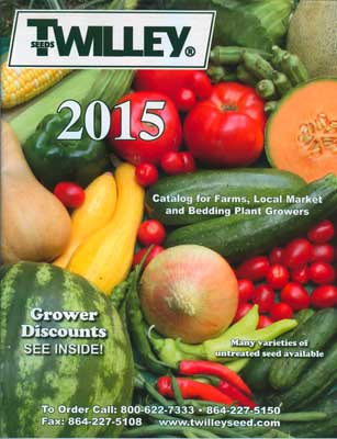 Twilley Seed 2015 Catalog Cover