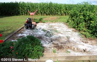 Soil heavily fertilized and limed