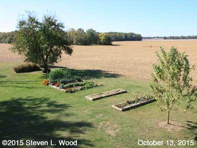 Our Senior Garden - October 13, 2015