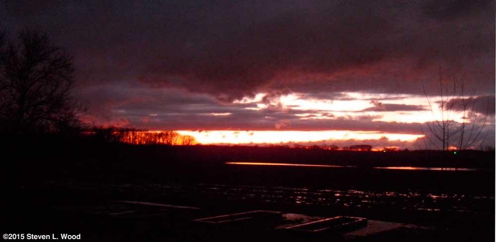 Evening Sky - December 28, 2015