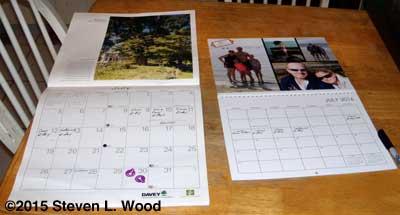 Changing calendars