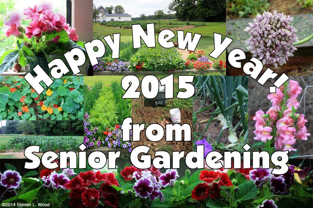 Happy New Year - 2015 - from Senior Gardening