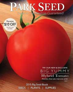2015 Park Seed Catalog Cover