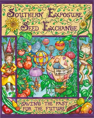 Southern Exposure Seed Exchange 2016 Catalog Cover