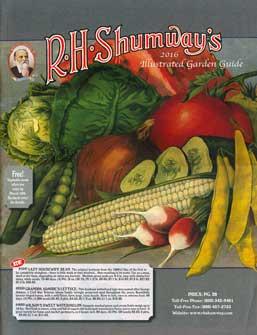 Shumway 2016 Catalog Cover