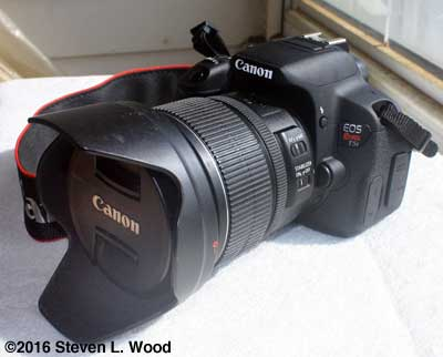 Canon T5i with 15-85mm lens