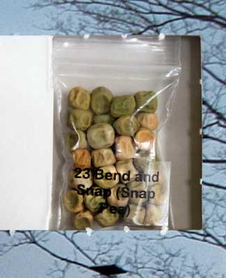 Bend and Snap Sugarsnap seed