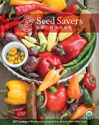 Seed Savers Exchange 2017 catalog cover