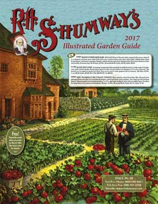 R.H. Shumway 2017 Catalog Cover