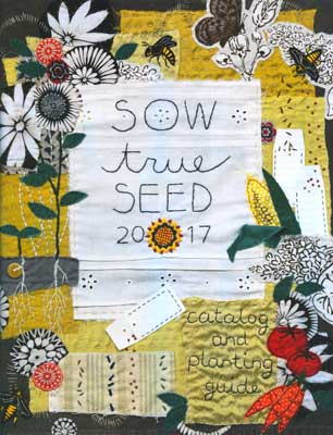 Sow True Seed 2017 Catalog Cover