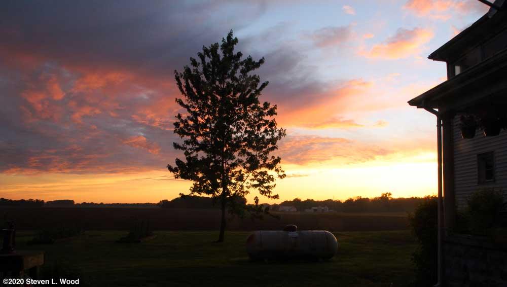 Evening sky - June 4, 2020