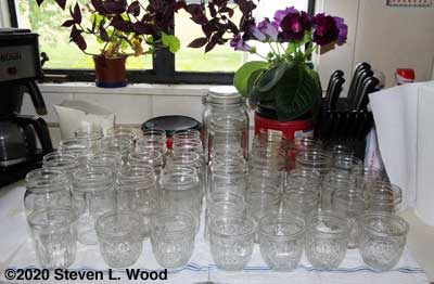 A gift of canning jars