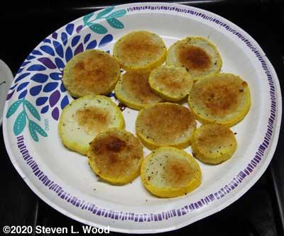 Baken Parmesan Yellow Squash