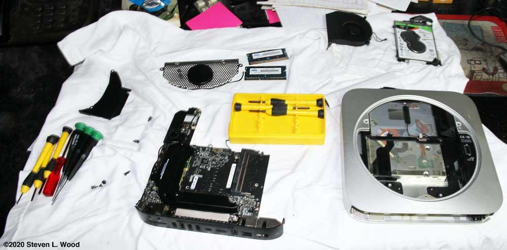 Torn down 2010 Mac Mini