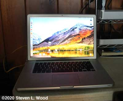 """New"" fifteen inch Macbook Pro"