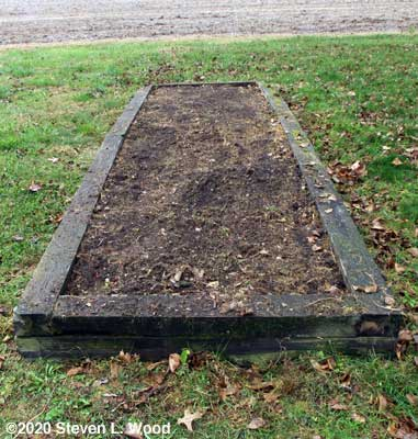 Asparagus bed cleared